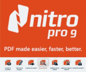 Nitro Pro 9, an excellent software to PDF conversion.