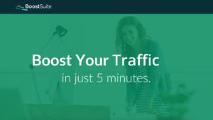 BoostSuite, a free tool for online advertising