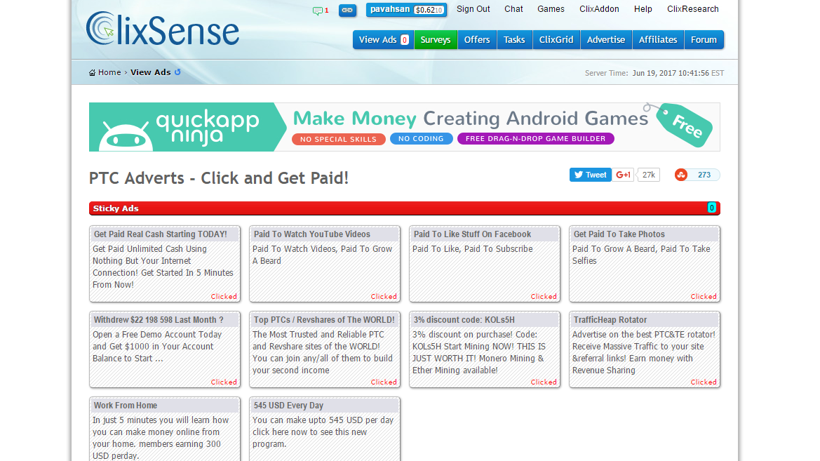 ClixSense | LEARN AND EARN